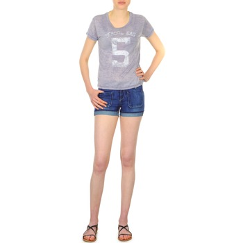 textil Mujer Shorts / Bermudas School Rag SAILOR COMFORT Azul