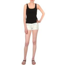 textil Mujer Shorts / Bermudas School Rag SELENA FLOWERS Blanco / Estampado / Florido