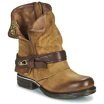 Zapatos Mujer Botas de caña baja Airstep / A.S.98 SAINT BIKE Camel