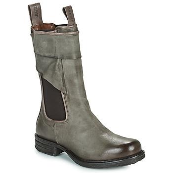 Zapatos Mujer Botas de caña baja Airstep / A.S.98 SAINTEC CHELS Gris
