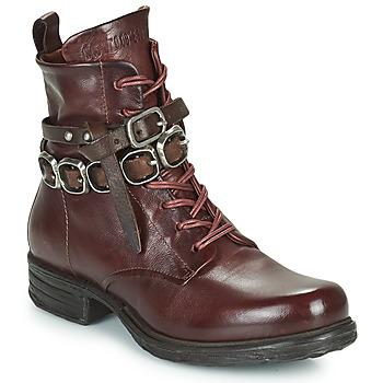 Zapatos Mujer Botas de caña baja Airstep / A.S.98 SAINTEC BRIDE Burdeo