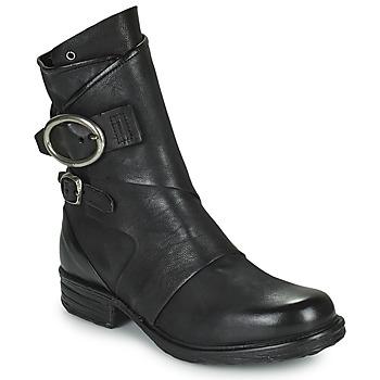 Zapatos Mujer Botas de caña baja Airstep / A.S.98 SAINTEC DOUBLE Negro