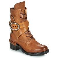 Zapatos Mujer Botines Airstep / A.S.98 NOVASUPER LACE Camel