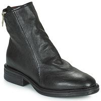 Zapatos Mujer Botas de caña baja Airstep / A.S.98 FLOWER ZIP Negro