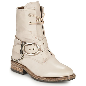 Zapatos Mujer Botas de caña baja Airstep / A.S.98 FLOWER BUCKLE Beige