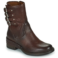 Zapatos Mujer Botas de caña baja Airstep / A.S.98 MIRACLE BUCKLE Burdeo