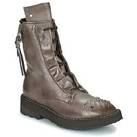 Zapatos Mujer Botas de caña baja Airstep / A.S.98 CHIMICA Marrón