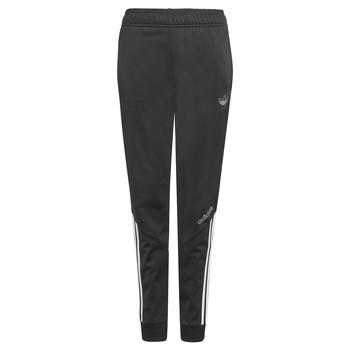 textil Niños Pantalones de chándal adidas Originals BLOEU Negro
