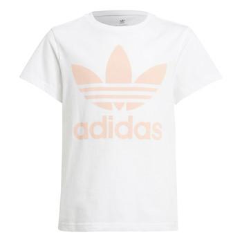 textil Niños Camisetas manga corta adidas Originals VAGUO Blanco