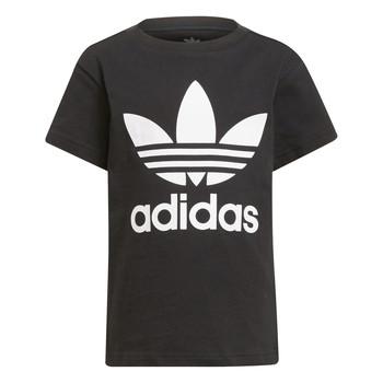 textil Niños Camisetas manga corta adidas Originals CHANTIS Negro