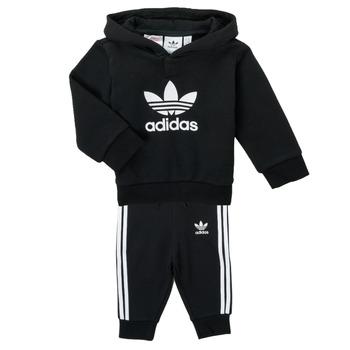 textil Niños Conjunto adidas Originals TROPLA Negro