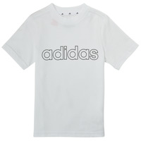 textil Niño Camisetas manga corta adidas Performance ALBA Blanco