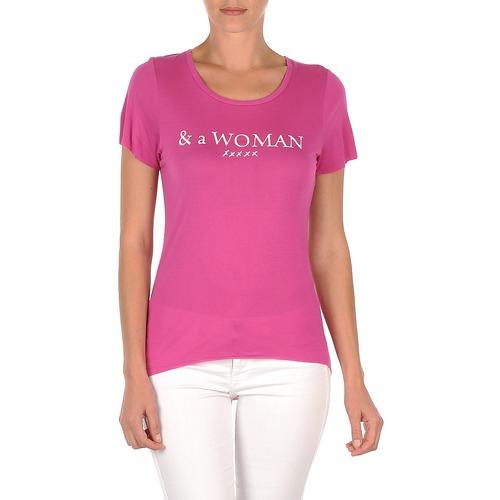 Camisetas Temmy Mujer Manga Violeta Rag Woman Corta School Textil 0wvN8PynOm