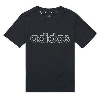textil Niño Camisetas manga corta adidas Performance SAMINA Negro