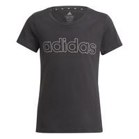 textil Niña Camisetas manga corta adidas Performance PLAKAT Negro