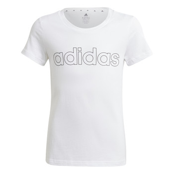 textil Niña Camisetas manga corta adidas Performance HOLLIA Blanco
