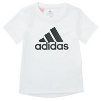 textil Niño Camisetas manga corta adidas Performance NADEGE Blanco