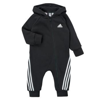 textil Niños Monos / Petos adidas Performance TOMILA Negro
