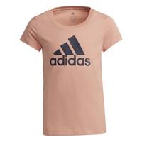 textil Niña Camisetas manga corta adidas Performance ALBERIC Rosa