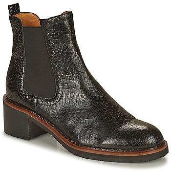 Zapatos Mujer Botas de caña baja Mam'Zelle GRADO Negro