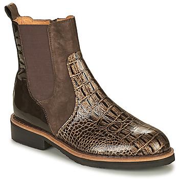 Zapatos Mujer Botas de caña baja Mam'Zelle JUDE Marrón