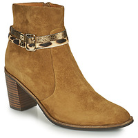 Zapatos Mujer Botines Mam'Zelle NESSY Camel
