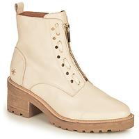 Zapatos Mujer Botas de caña baja Mam'Zelle QUITO Blanco