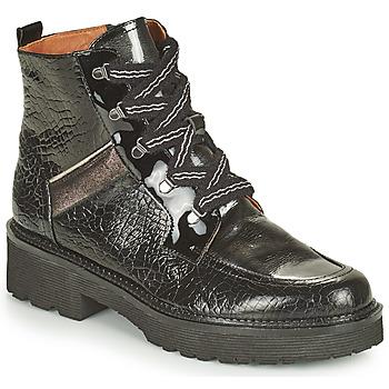 Zapatos Mujer Botas de caña baja Mam'Zelle ROLL Negro