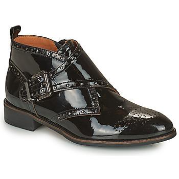 Zapatos Mujer Botas de caña baja Mam'Zelle SANTANA Negro