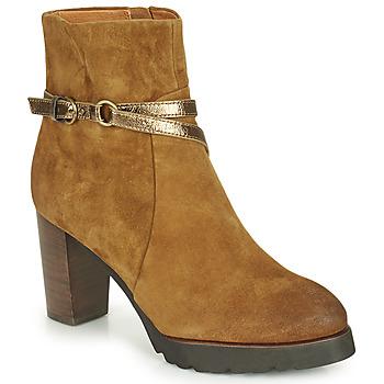 Zapatos Mujer Botines Mam'Zelle UGA Camel