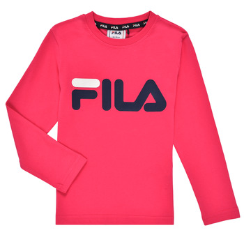textil Niña Camisetas manga larga Fila ESPIN Rosa