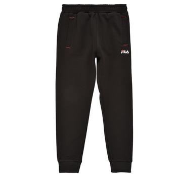 textil Niño Pantalones de chándal Fila REBALA Negro