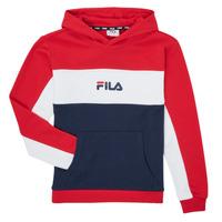 textil Niña Sudaderas Fila POLLY Rojo / Marino