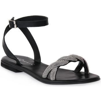 Zapatos Mujer Sandalias Mosaic NERO SHINE Nero