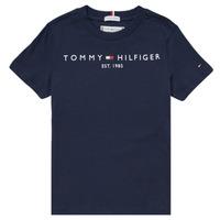 textil Niño Camisetas manga corta Tommy Hilfiger SELINERA Marino