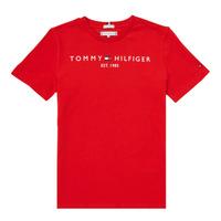 textil Niño Camisetas manga corta Tommy Hilfiger SELINERA Rojo