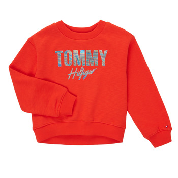 textil Niña Sudaderas Tommy Hilfiger KOMELA Rojo