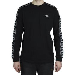 textil Hombre Camisetas manga larga Kappa Haimo Longsleeve Noir