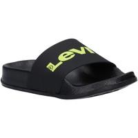 Zapatos Niños Chanclas Levi's VPOL0076S POOL Negro