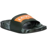 Zapatos Niños Chanclas Levi's VPOL0071S POOL Verde