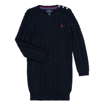 textil Niña Vestidos cortos Polo Ralph Lauren CINEMAR Marino