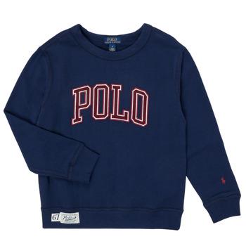textil Niño Sudaderas Polo Ralph Lauren KAMILLAR Marino