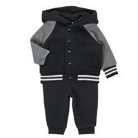 textil Niño Conjunto Polo Ralph Lauren DENILO Negro / Gris