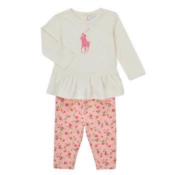 textil Niña Conjunto Polo Ralph Lauren FRENNO Multicolor