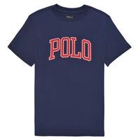 textil Niño Camisetas manga corta Polo Ralph Lauren MALIKA Marino