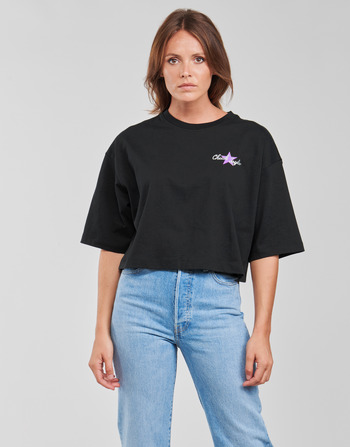 Converse CHUCK INSPIRED HYBRID FLOWER OVERSIZED CROPPED TEE