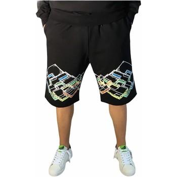 textil Hombre Shorts / Bermudas Lotto LTU316 Negro