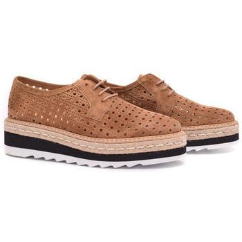 Zapatos Mujer Derbie Alpe ALEXIA Humus