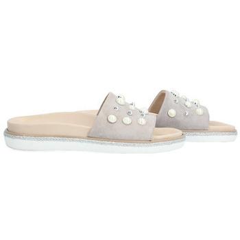 Zapatos Mujer Zuecos (Mules) Alpe JAZMINE Tortola