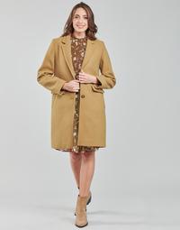 textil Mujer Abrigos Esprit WOR LL F BLZ CT Marrón